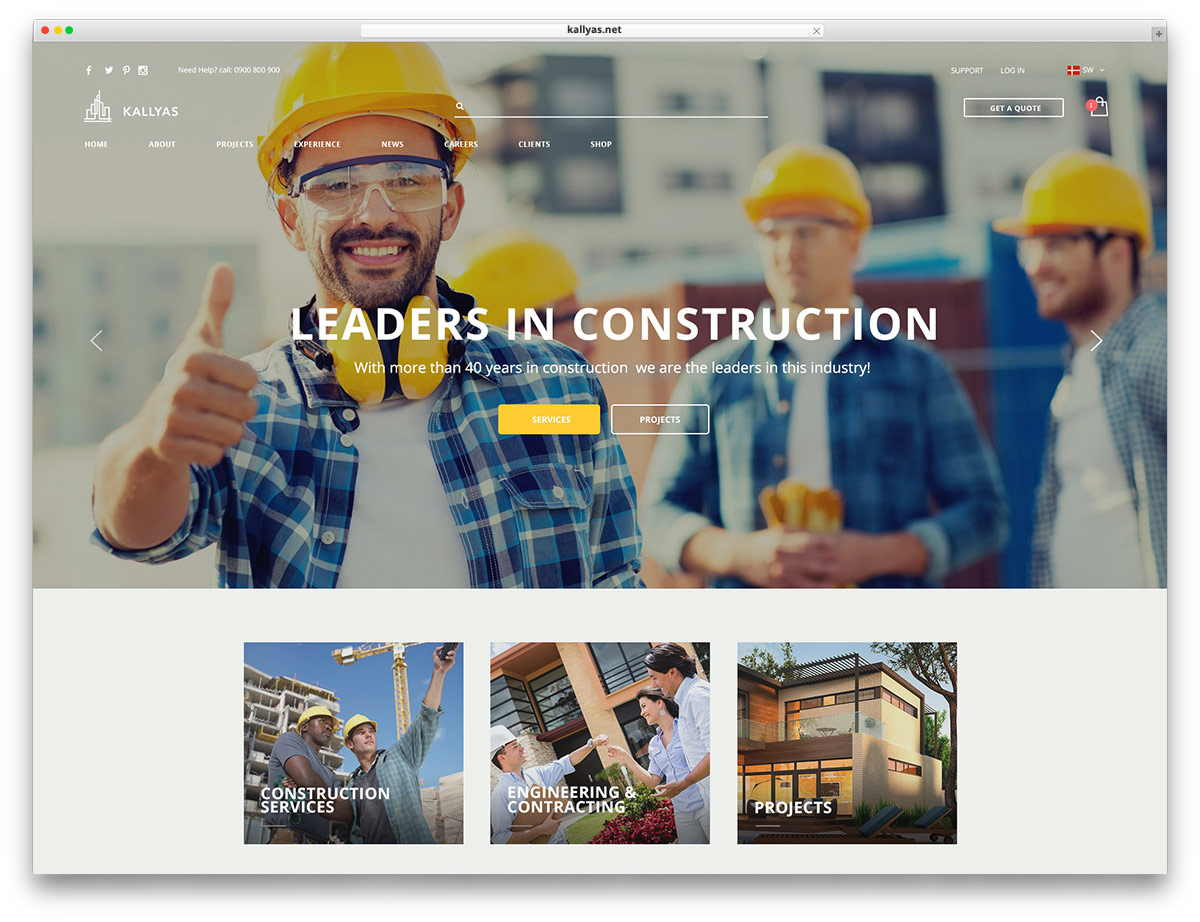 web design for construction company_t1