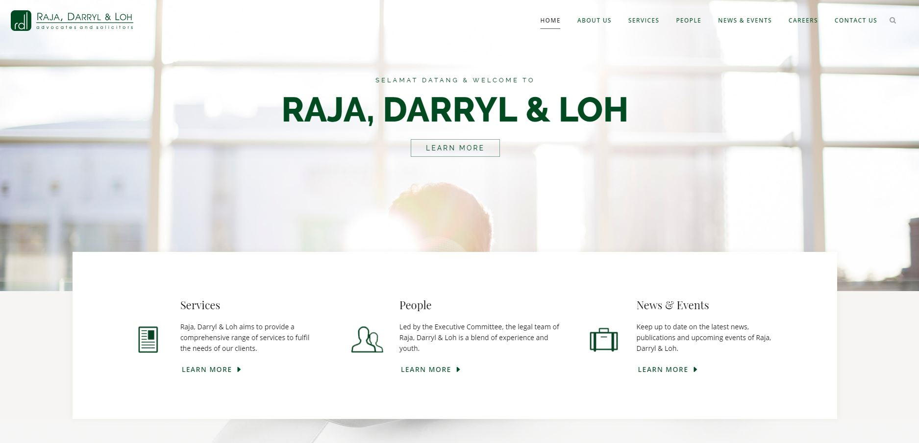 web design for lawyers_rdl LAW FIRM