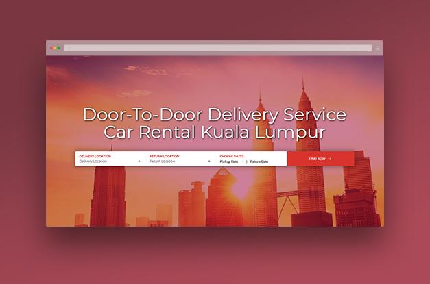 super cute be3b1 a03b8 Ara Car Rental - Web Design Malaysia - Laman7