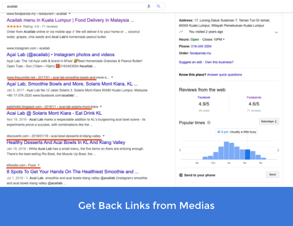 SEO Tactics 2020 - Get back links from existing posts