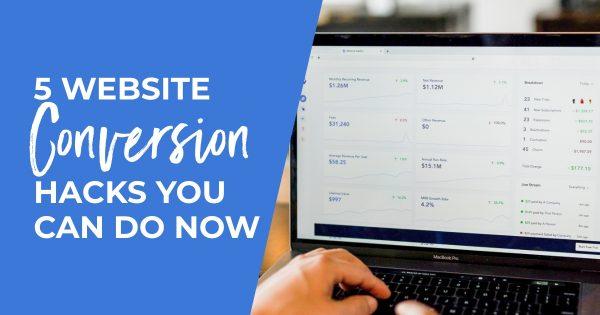 website conversion hacks - hero
