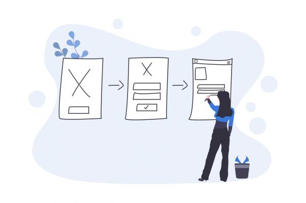 redesign corporate website user experience